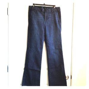 Banana Republic Trouser Jeans 29 Dark Wash